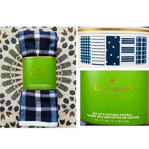 Kate Spade Kitchen Dish Towels - 5 Pack